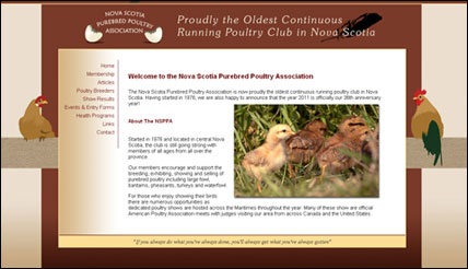 Nova Scotia Purebred Poultry Association